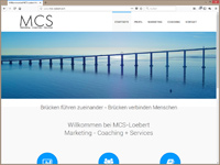 MCS-Loebert - Webseite in html5